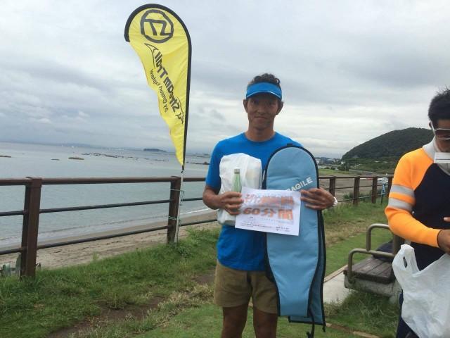 第 6 回 Ocean paddle race Glide Trial 2016 内田直人さん優勝!