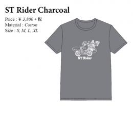 ST Rider Charcoal T-Shirts