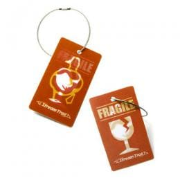 Travel Tag - Wetty Fragile 3D
