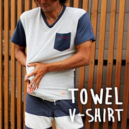 TOWEL V-SHIRT