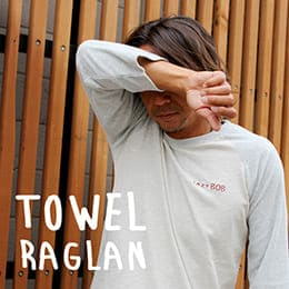 TOWEL RAGLAN-SHIRT