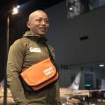 カヌースラローム競技の矢澤一輝氏とClam①